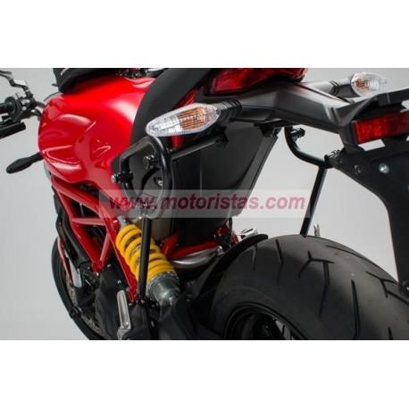 SLC soporte lateral izqiuerda. Ducati Monster 797