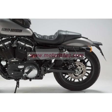 SLC soporte lateral izquierda. Harley Sportster