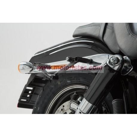 SLC soporte lateral izqiuerda. Harley Davidson Dyna Fat Bob