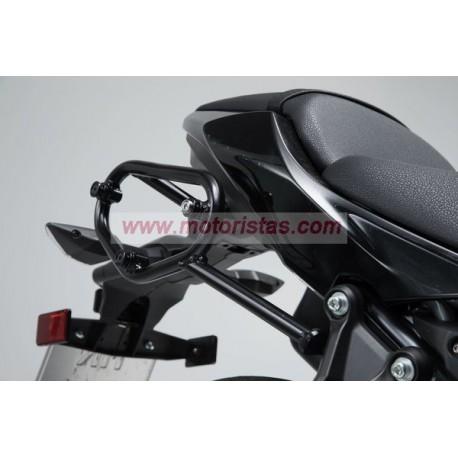 SLC soporte lateral izquierda. Kawasaki Z650 / Ninja 650