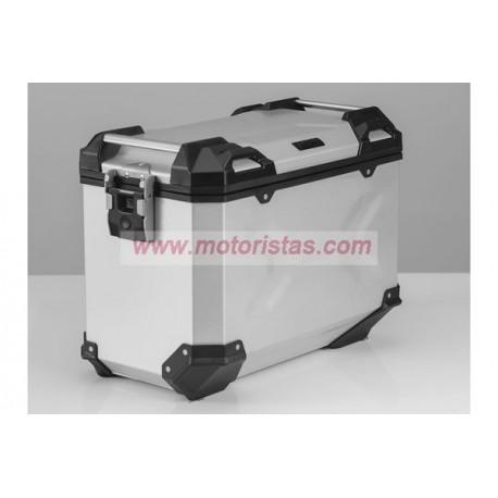 Maleta lateral de aluminio TRAX ADV L. 45 l.