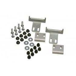 Kit adaptador para soporte lateral QUICK-LOCK. Maletas de plástico Hepco & Becker. Por pares.