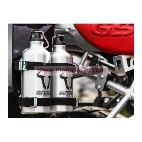 TRAX Kit de botella +1 botella de acero inoxidable. 0.6 l.