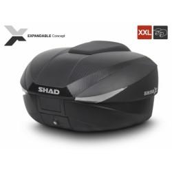 Shad topcase SH59X carbonlook