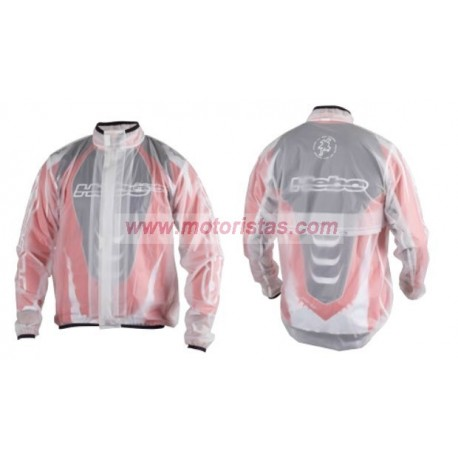 Hebo impermeable transparente