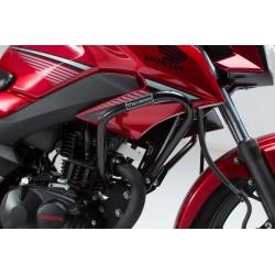Protecciones laterales de motor.Honda CB 125 F