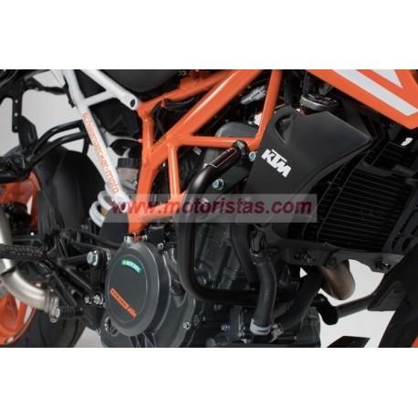 Protecciones laterales de motor KTM 390 Duke