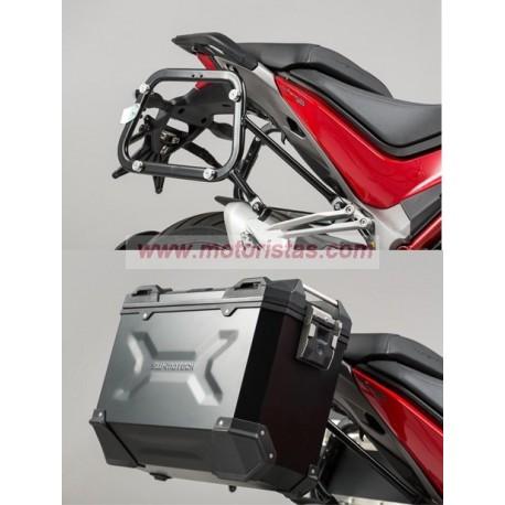 Soportes laterales EVO para maletas DUCATI Multistrada 1200 / S (15-18)