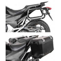 Soportes laterales EVO para maletas HONDA NC 700 S / SD / X / XD (11-14)