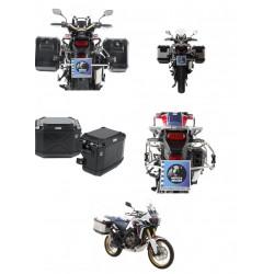Set de maletas H&B Xplorer Cutout con soportes Honda CRF 1000 Africa Twin (18-)