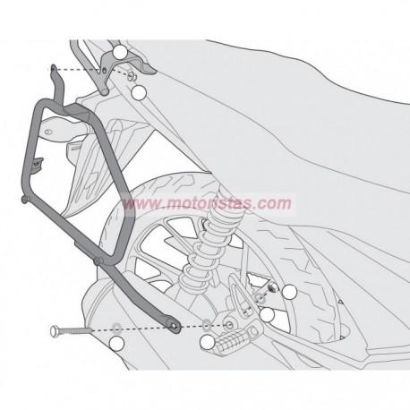 Portamaletas laterales Givi Honda CB 125 F (15-18)