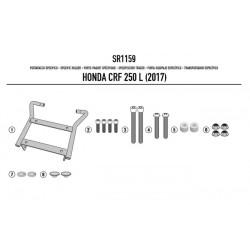 Adaptador posterior para TopCase Givi Honda CRF250L (12-)