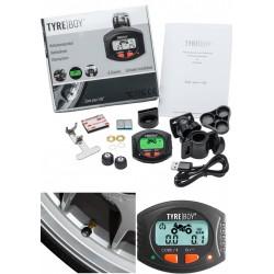 Sistema de control de temperatura de neumáticos y presión