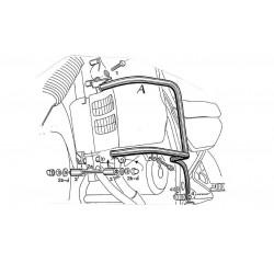 Protecciones laterales H&B Honda XL 600 V Transalp (87-00)
