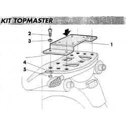 Fijación TopMaster Shad HONDA XL 650 V Transalp