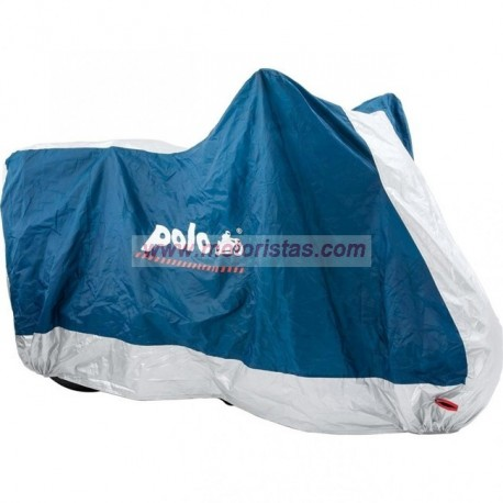 outdoor cover blue/silver