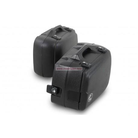 Kit maletas Hepco&Beckwer Junior ll 40L derecha/30L izquierda