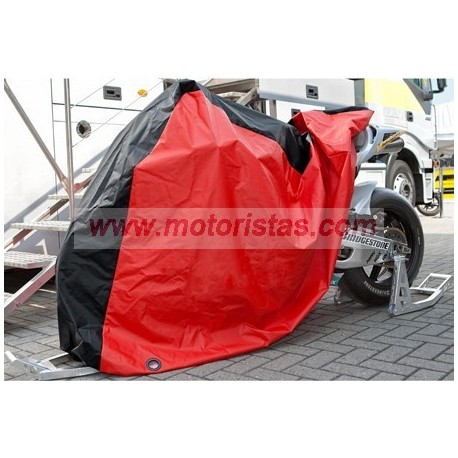 outdoor cover red/black